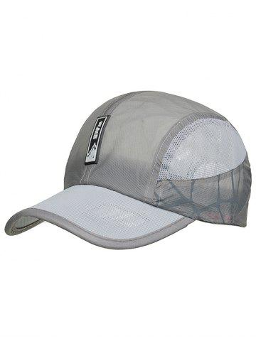 Unique Outdoor Letter Pattern Lightweight Sunscreen Hat