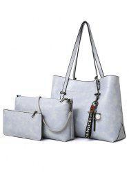 3 Pieces Causal Hang Out Shoulder Bag Set -