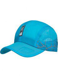Outdoor Letter Pattern Lightweight Sunscreen Hat -