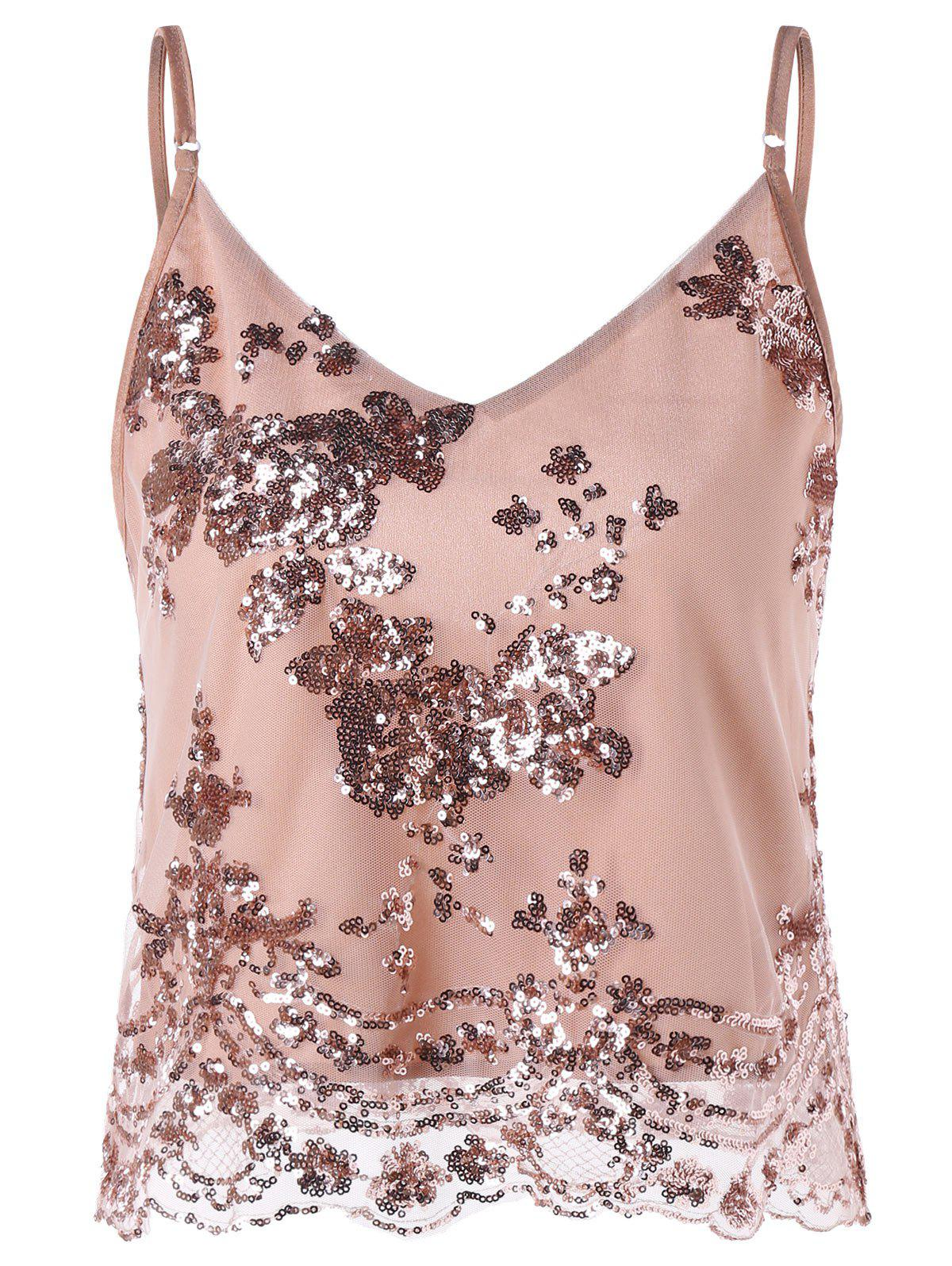 Outfits Sparkly Short Summer Camisole