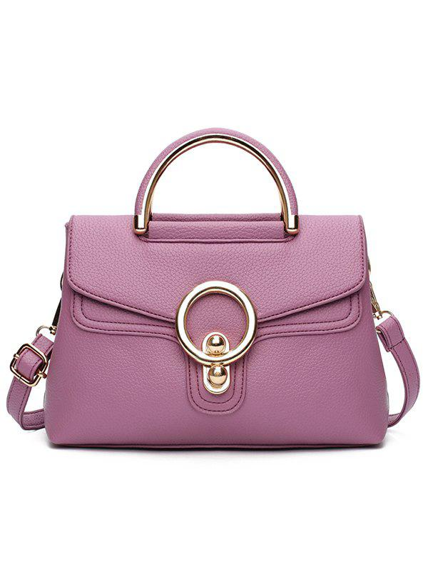 Hot PU Leather Casual Shopping Handbag
