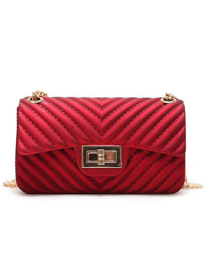 Latest Chic Quilted Chain Crossbody Bag for Holiday