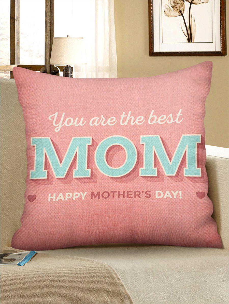 Outfit Mother's Day Gift Letters Printed Throw Pillow Case