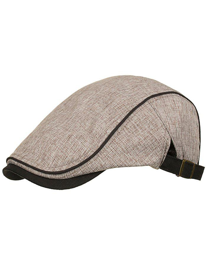 Shops Unique Solid Color Adjustable Newsboy Hat