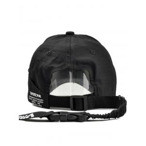 Numbers Label Adjustable Graphic Hat -