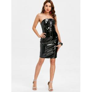 Tie Up Bandeau Night Out Dress -