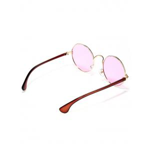 Colorful Metal Mirrored Street Snap Sunglasses -