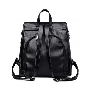 Daily Shopping Backpack with Top Handle -