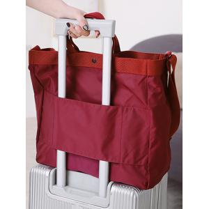 Big Capacity Portable Travel Tote Bag with Shoulder Strap -