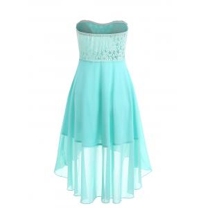 Chiffon Cocktail Bandeau Dress -