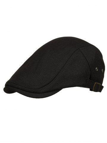 Chic Solid Color Breathable Newsboy Hat