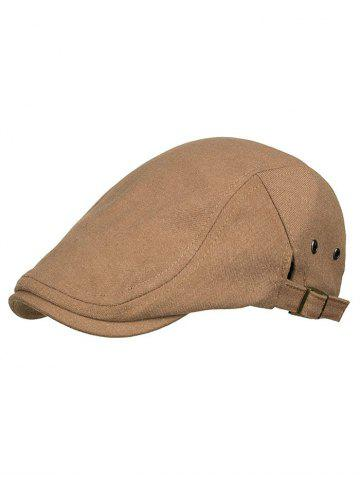 Fancy Solid Color Breathable Newsboy Hat