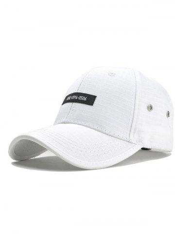Store Numbers Label Adjustable Graphic Hat