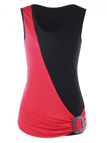 Shops Summer Two Tone Tank Top