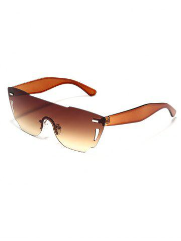 Hot Anti UV Mirrored Reflective Sheild Sunglasses