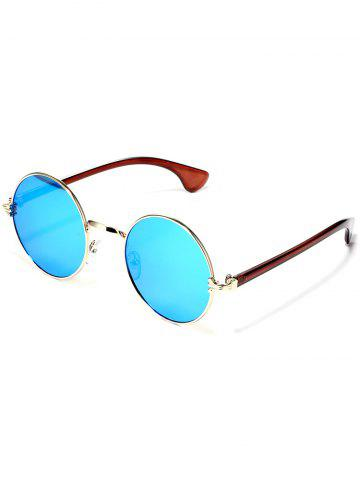 Affordable Colorful Metal Mirrored Street Snap Sunglasses