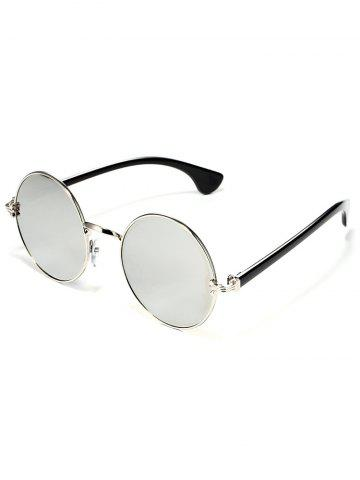New Colorful Metal Mirrored Street Snap Sunglasses
