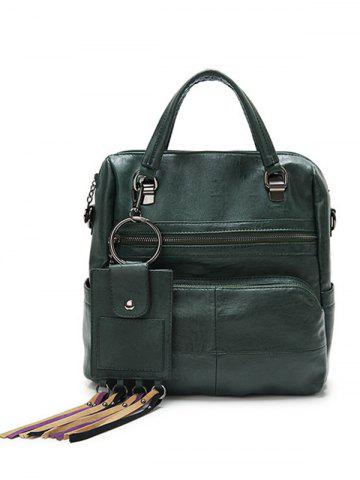 Buy Multi Pockets PU Leather Big Capacity Handbag
