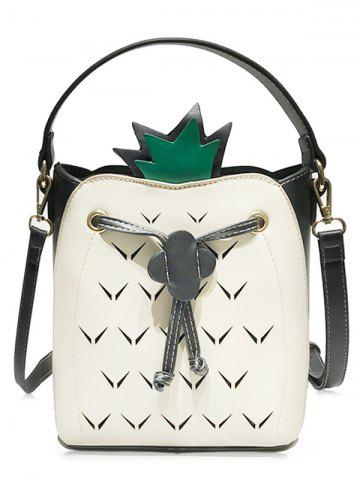 Cut Out Bag Crossbody Couleur contrastante