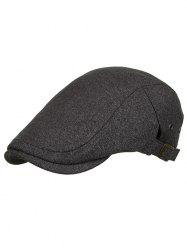Solid Color Breathable Newsboy Hat -