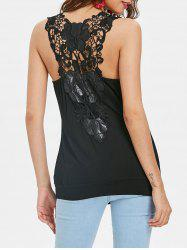 Cowl Neck Sleeveless Fitted T-shirt -