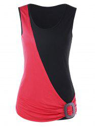 Summer Two Tone Tank Top -