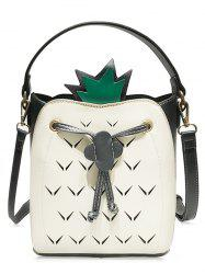Cut Out Bag Crossbody Couleur contrastante -