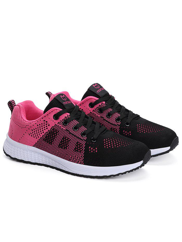 Chic Lightweight Tie Up Sneakers for Running