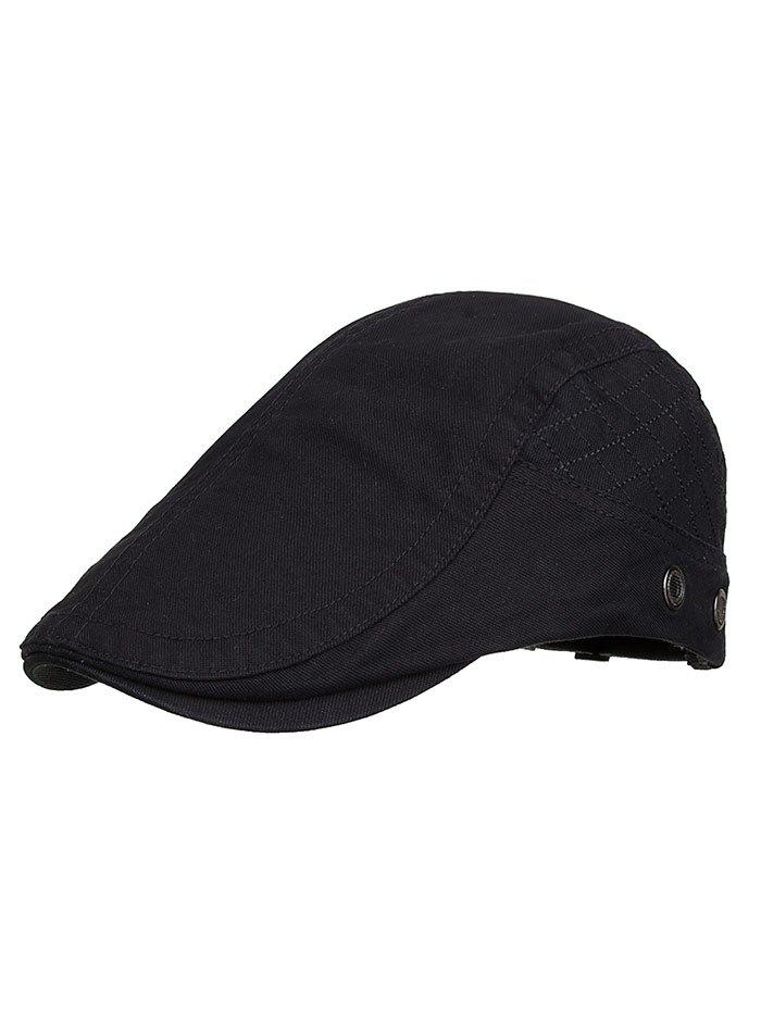Buy Outdoor Plaid Embroidery Breathable Ivy Hat