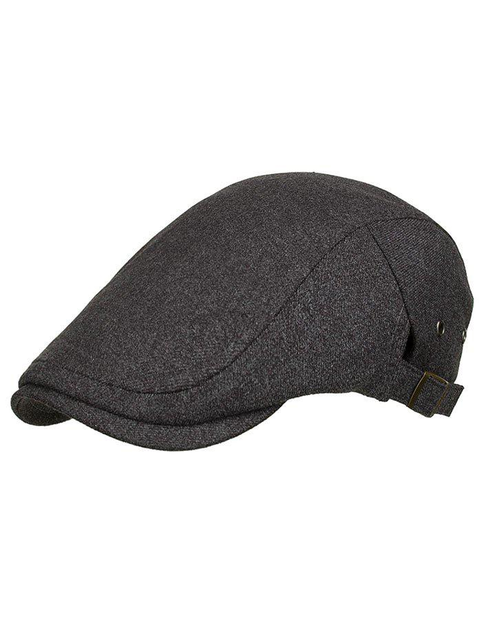 Sale Solid Color Breathable Newsboy Hat