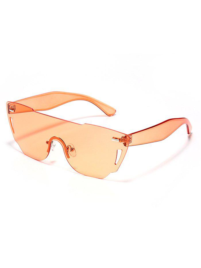 Shop Anti UV Mirrored Reflective Sheild Sunglasses