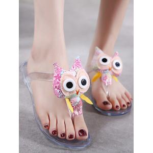 Leisure Cartoon Flip Flops for Holiday -
