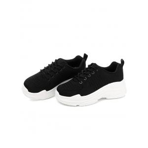 Lanbaoli Breathable Lace Up Outdoor Basic Gym Sneakers -