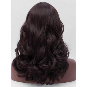 Long Middle Parting Wavy Synthetic Wig -