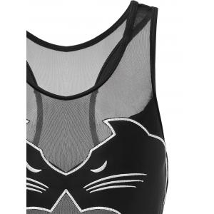 One Piece Black Cat Swimwear -