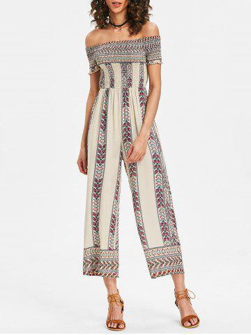 Outfits Wide Leg Summer Bohemian Jumpsuit