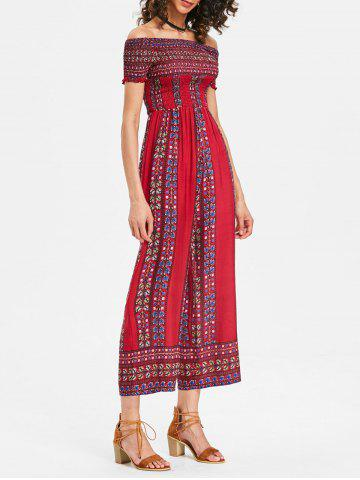 Best Wide Leg Summer Bohemian Jumpsuit