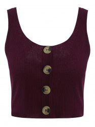 Summer Ribbed Tank Top -