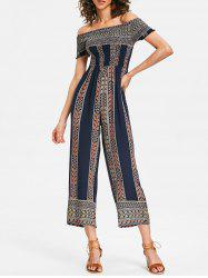 Wide Leg Summer Bohemian Jumpsuit -