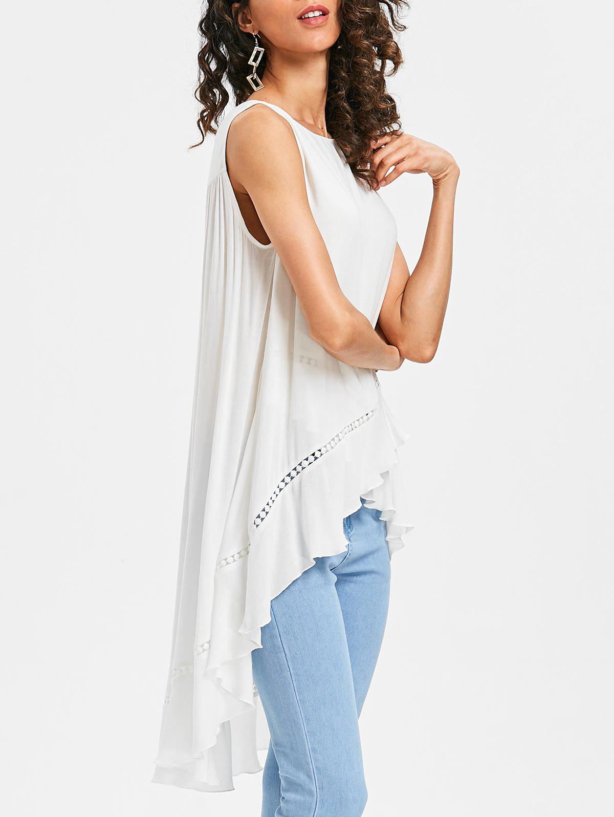Chic Longline Asymmetrical Tank Top