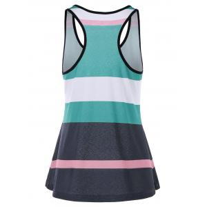 Stripe Racerback Tank Top -