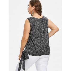 Plus Size Tie Side Tank Top -