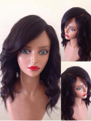 Outfits Medium Side Parting Wavy Party Synthetic Wig