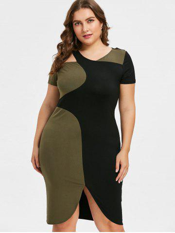 Slimming Plus Size Dresses Women Cocktail And Summer Cheap With