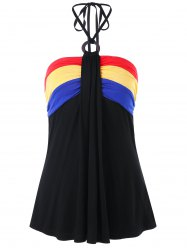 Halter Draped Tank Top -
