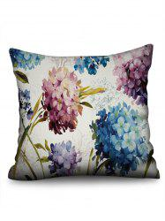 Painting Hydrangea in Oil Print Pillowcase -