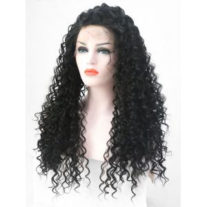 Perruque Synthétique Longue Fluffy Lace Front -