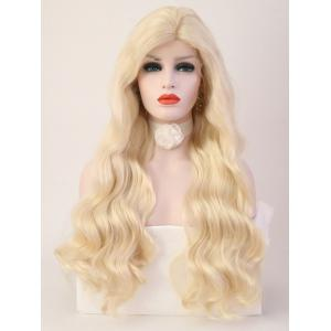 Long Side Bang Loose Wave Party Synthetic Lace Front Wig -
