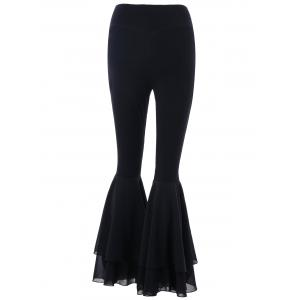 Tiered Flare Pants -