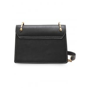 Minimalist Casual Stitches Crossbody Bag -